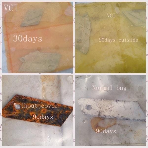 VCI Bag Testing-การทดสอบถุงพลาสติกกันสนิม